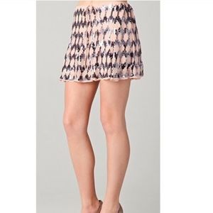 Elizabeth and James Pink Embelished Edith Skirt